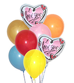 I Love You Balloon Bouquet